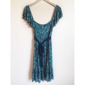 Liz Lange Maternity Dress Tie Waist Pregnancy S